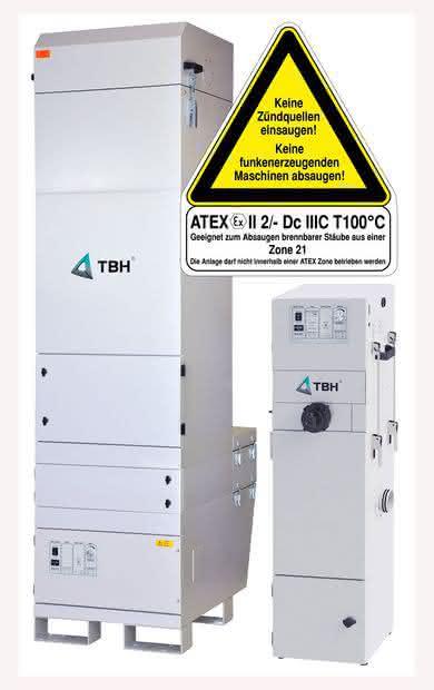 Atex-Filteranlage: Arbeitsschutz gesichert