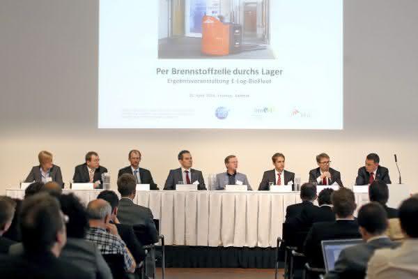 Logistikfahrzeugflotte mit Brennstoffzellen-Hybridantrieb: Projektpartner stellen Ergebnisse vor