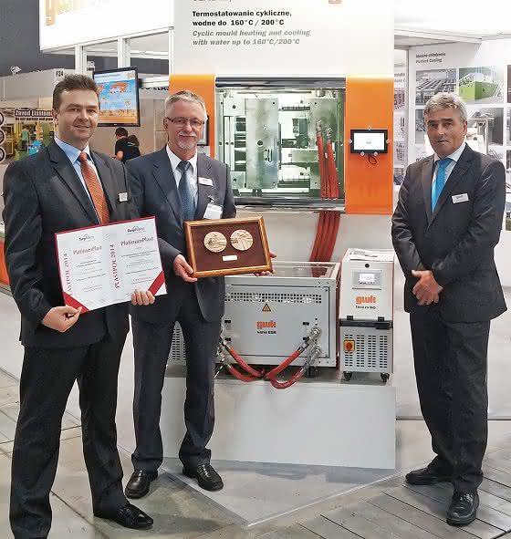 Helmut Gries, Robert Srodon und Steffen Bernhardt