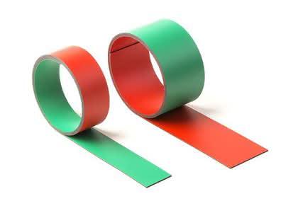 Magnetfolie: Hält auf beiden Seiten