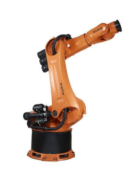 Schwerlastroboter: Schlank und stark