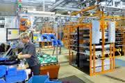 Effiziente Verkettung von Lager und Montage: Diese Anlage ist fit