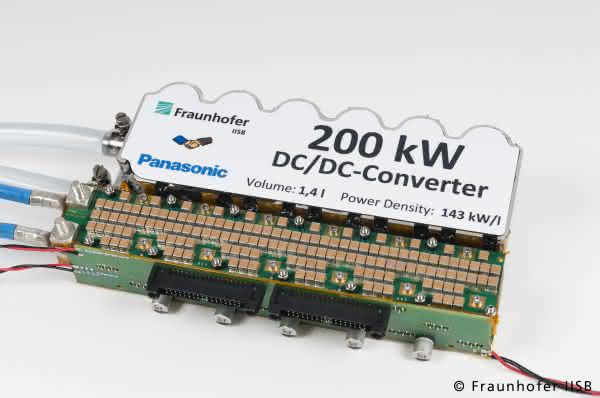 Fraunhofer IISB auf der PCIM Europe: Lösungen für lokale Gleichstromnetze