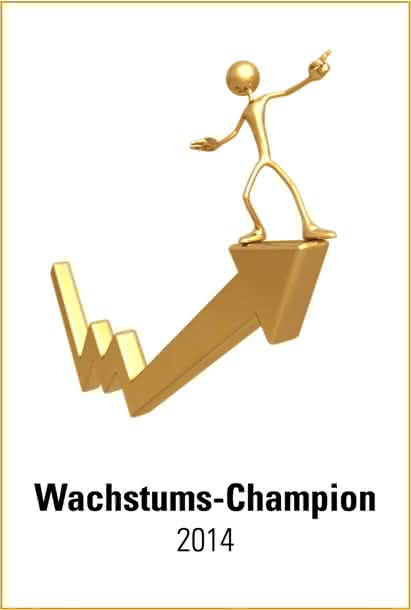 """""""Wachstums-Champion 2014"""": Lösungsorientiertes Geschäftsmodell von JUMO honoriert"""