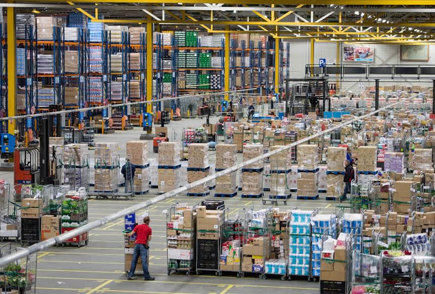 Albert Heijn vertraut Vanderlande: Food geht automatisiert in die Filiale