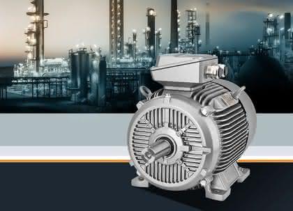 Explosionsgeschützte Motoren: Hohe Effizienzklasse