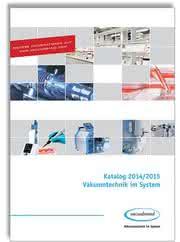 Neuer VACUUBRAND Katalog 2014/2015: Vakuumtechnik im System