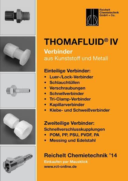 Handbuch THOMAFLUID® IV: Verbinder aus Kunststoff und Metall
