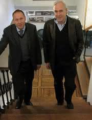 Lars Hugosson (li.)und Ola Hugoson
