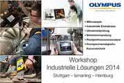 """Olympus Workshops """"Industrielle Lösungen"""": """"Sehen – Anfassen –  Erleben"""""""