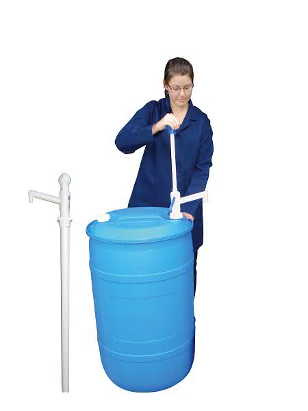 Chemikalienresistente Pumpen: Hand-, Druckluft- oder elektrischer Betrieb möglich