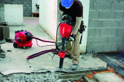 Trocken-/Nass-Hybrid-Sauger: Saugt auch mit Akku