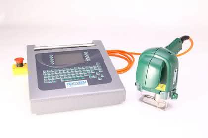 Tragbare Punktierungsmaschine: Sperrige Werkstücke einfach markieren
