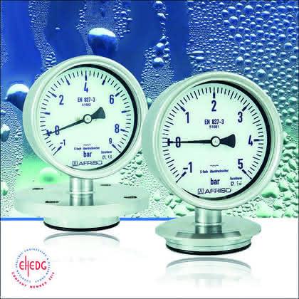 Druckmessgerät: Hygienische Druckmessung