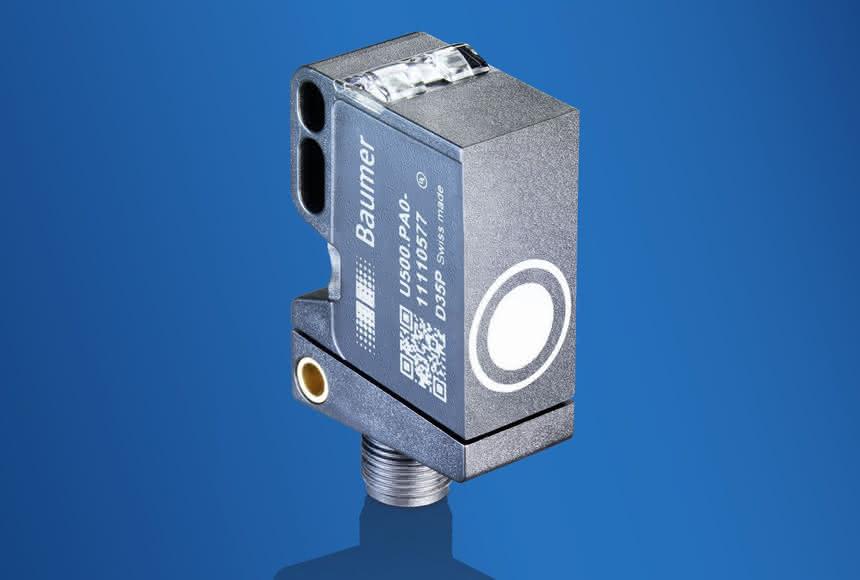 Ultraschallsensor U500: Baumer mit schmaler Schallkeule