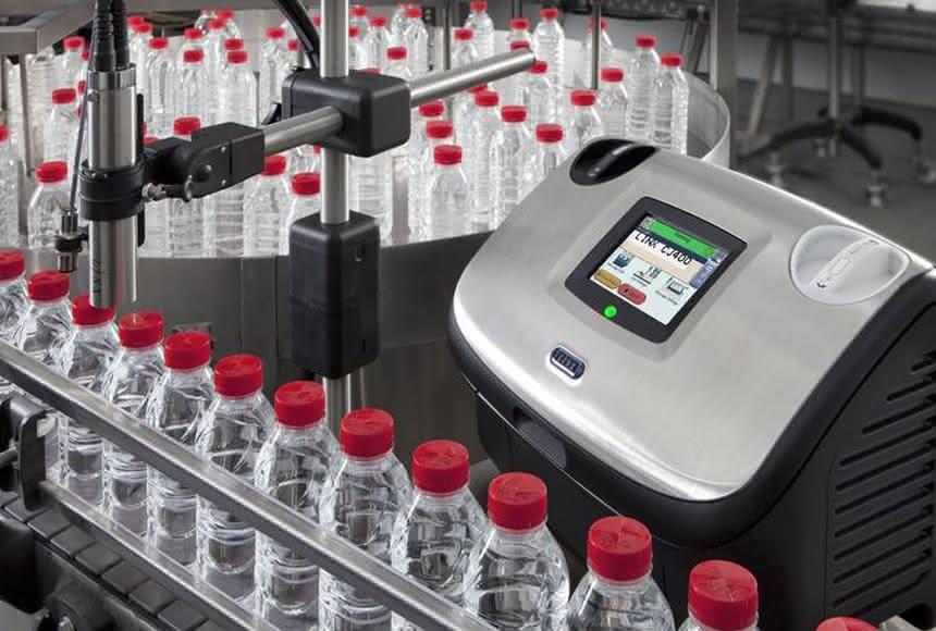Drucker Linx CJ400: Mit Bluhm schnell zum Auftrag