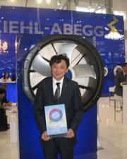 Ventilatorensystem ZAplus prämiert: Innovation Award für Ziehl-Abegg