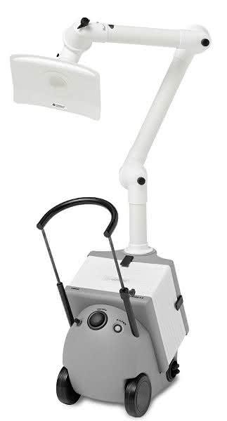 Für medizinische Laseranwendungen: Mobiles Absaugsystem