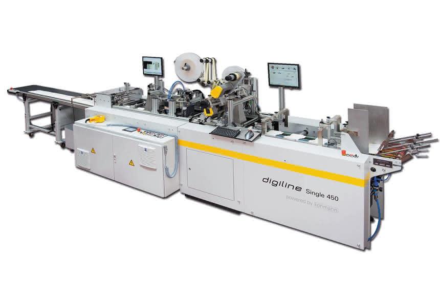 Serialisieren flacher Kartons: Drucksystem von Atlantic Zeiser zur Interpack