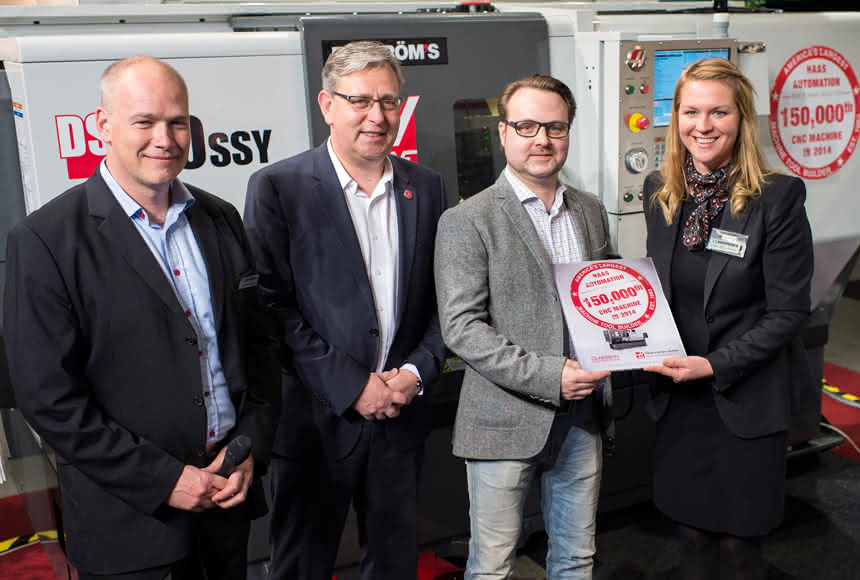 Nicht schlecht: 150.000 Werkzeugmaschinen: Haas feiert Auflagenjubiläum