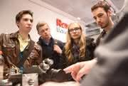 Fachkräftesuche bei Bosch Rexroth: Studis auf den Stand