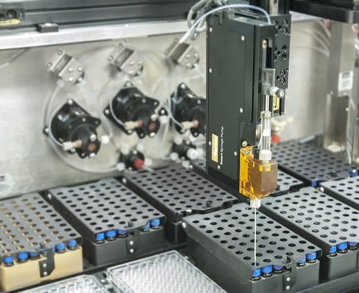 Neue Spritzenpumpe: Präzise Flüssigkeitsaufnahme und -dosierung