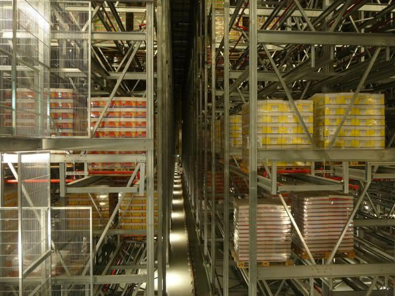 Lagerführungssystem: Haribo richtet Lagerführungssystem LFS ein