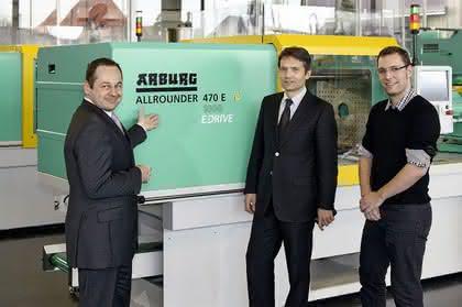 Spritzgießmaschine: Energie sparen