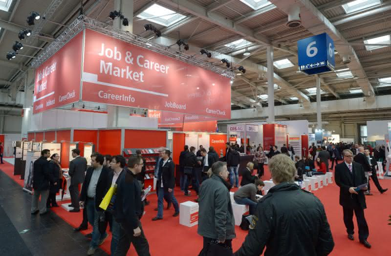 job and career: Recruiting-Veranstaltung auf der Hannover Messe