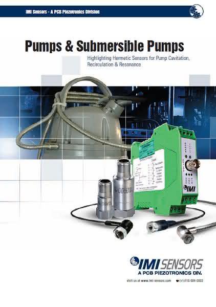 """Broschüre """"Pumpenüberwachung"""": Schwingungsmessungen an Pumpen"""