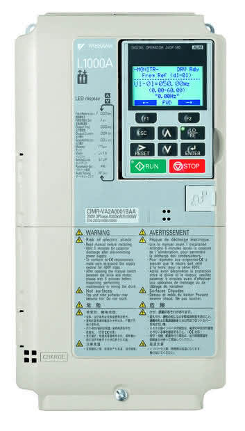 Frequenzumrichter: Umrichter geliftet