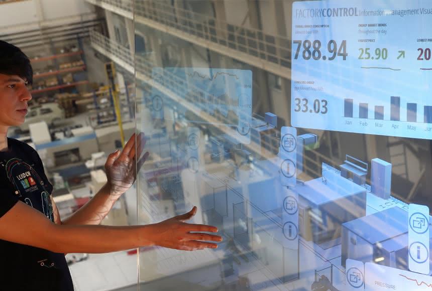 Fraunhofer IWU erforscht Produktionszukunft: Kompetenz der Zukunft