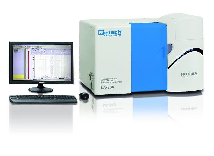 Lasergranulometer: Partikelanalyse bis in den Nanometerbereich