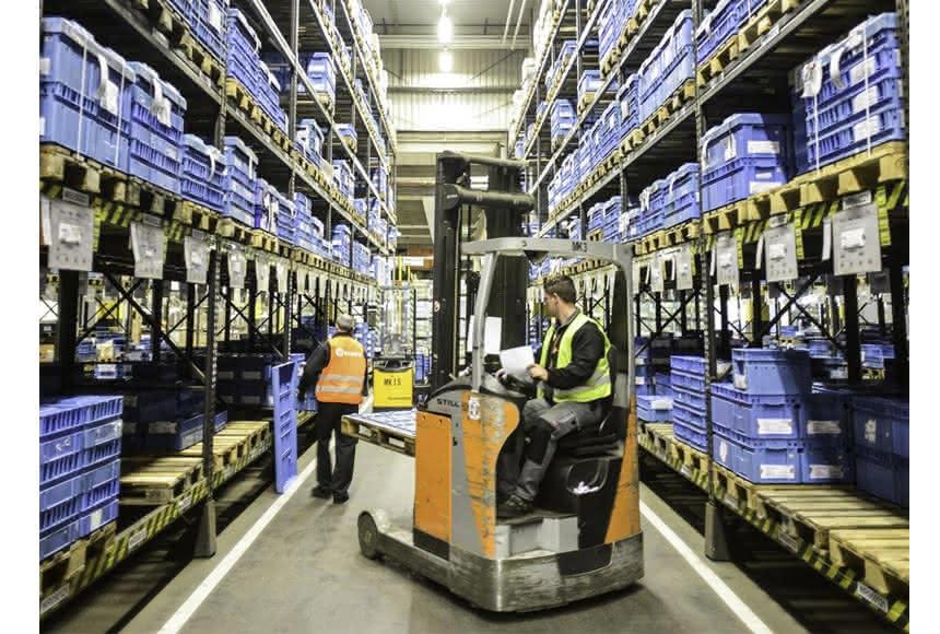 Bessere Qualität am Siemens-Standort Nürnberg: Elsen übernimmt Prozesse der operativen Logistikkette