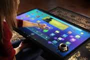 """""""Einen Cappuccino und drei Apps bitte!"""": 3M entwickelt Tisch mit Touch-Display"""