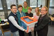 Schüler fördern: Igus spendiert 3-Drucker
