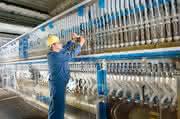 Neuer Elektrodentyp spart Strom: Chlor-Alkali-Elektrolyse