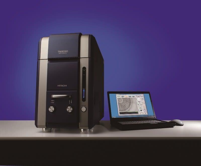 Uwe Binninger Analytik: Neu: Hitachi TM3030 Tisch-Elektronenmikroskop