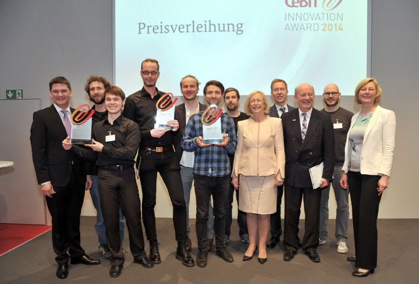 Intelligente Ideen: Cebit Innovation Award 2014 verliehen