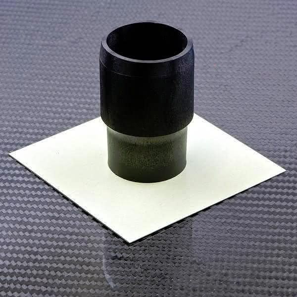Rohrprobekörper zur Kennwertermittlung von stoffschlüssigen Kunststoff/Metall-Hybridverbunden