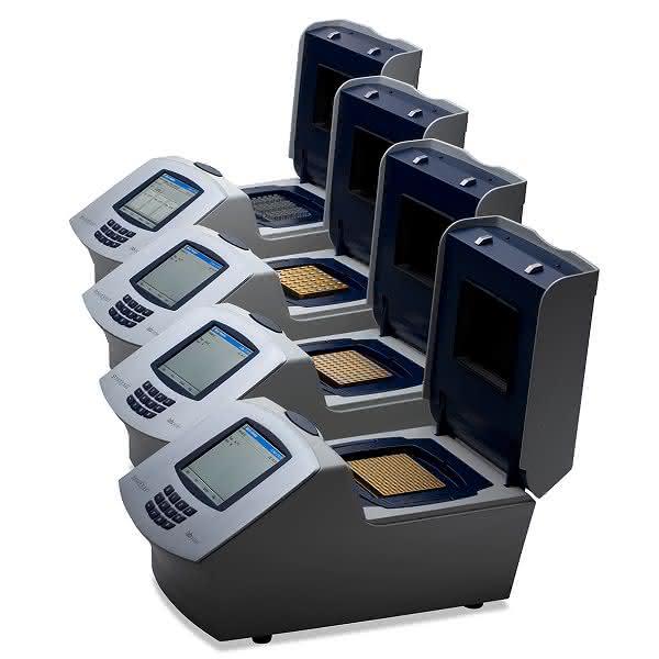 PCR-Thermocycler: Mit vergoldeten Silberblöcken