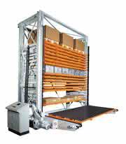 Turmlagersystem: Güter problemlos einlagern