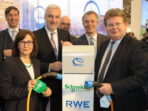 E-Mobility: Schneider Electric und RWE kooperieren