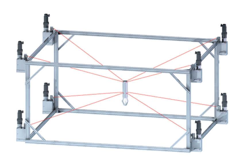 Seilroboter für Inspektion, Handhabung und Montage:: Unkonventionelle Lösungen