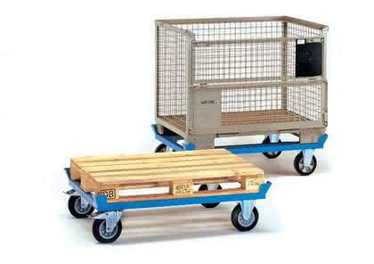 Paletten-Fahrgestelle: Für Lasten bis 300 kg