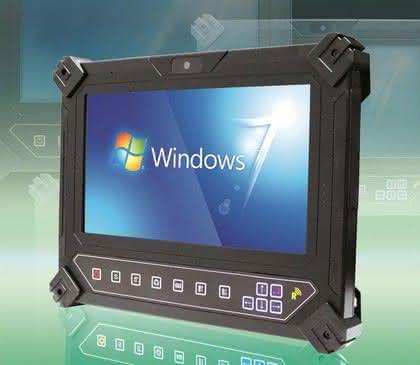 Tablet-PC: Kompaktes Gehäuse