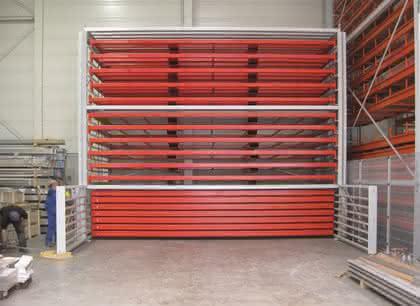 Schwerlastregal: Trägt bis zu 5.000 kg