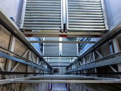 Materialflussanlage: Moderne Fördertechnik mit Perspektive