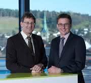 Dr. Robert Vaculik und Dr. Oliver Schnerr