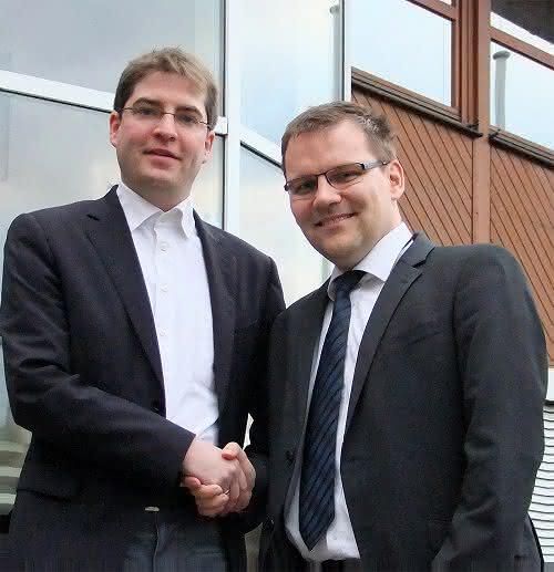 Jonathan Franke und Mirko Jurke